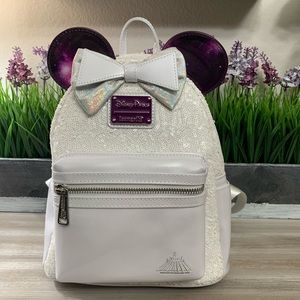 Disney Parks Space Mountain Minnie Mouse Backpack